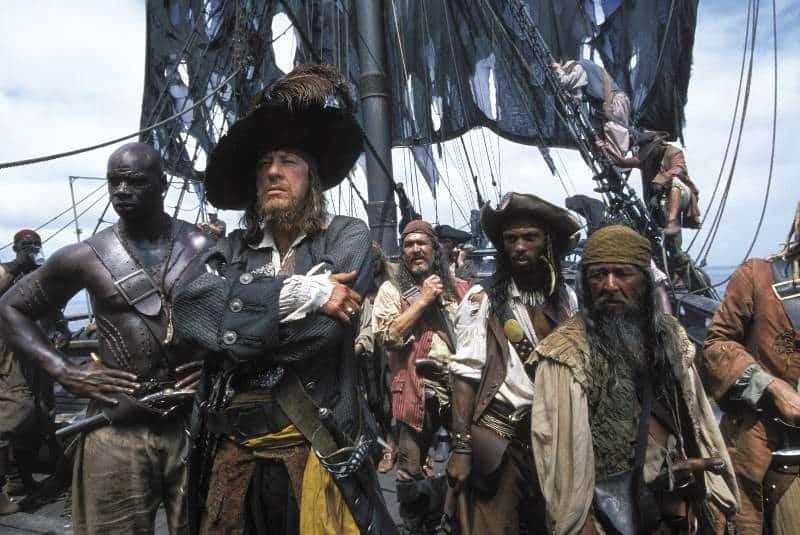 czarnoskórzy piraci