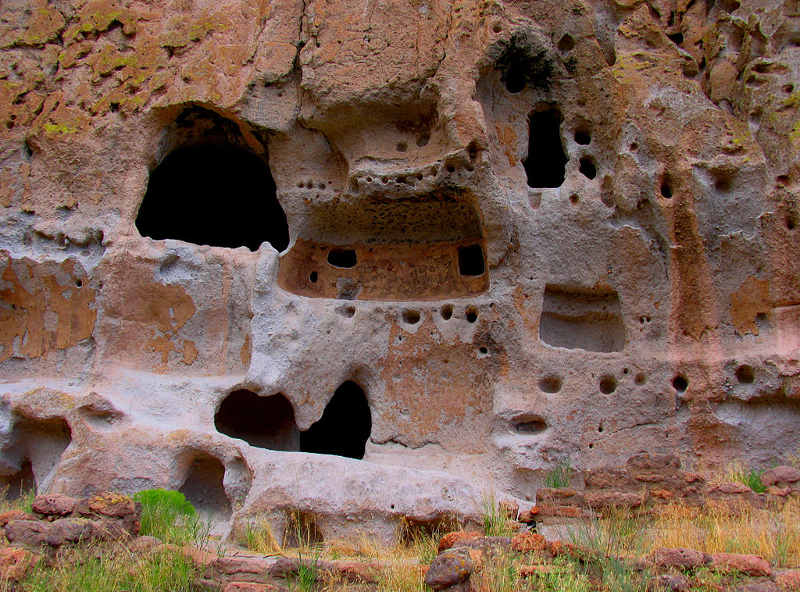 anasazi, domy w skale