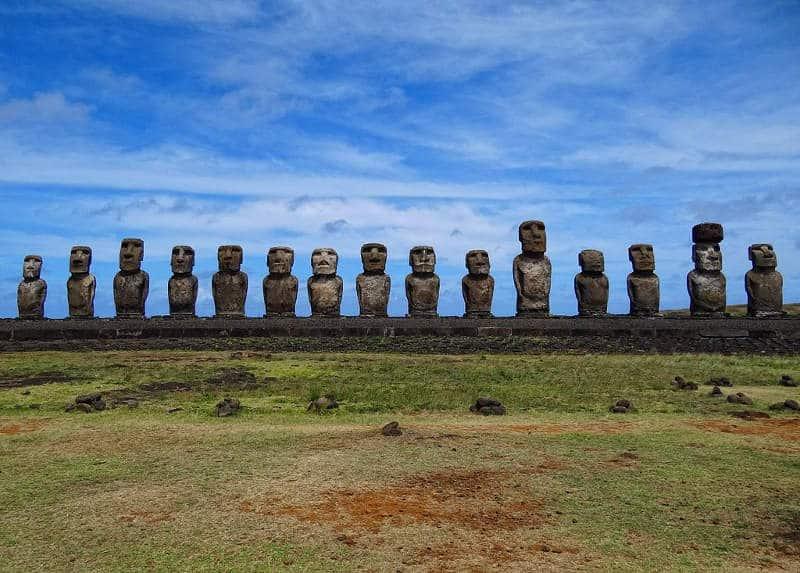 wyspa wielkanocna, moai
