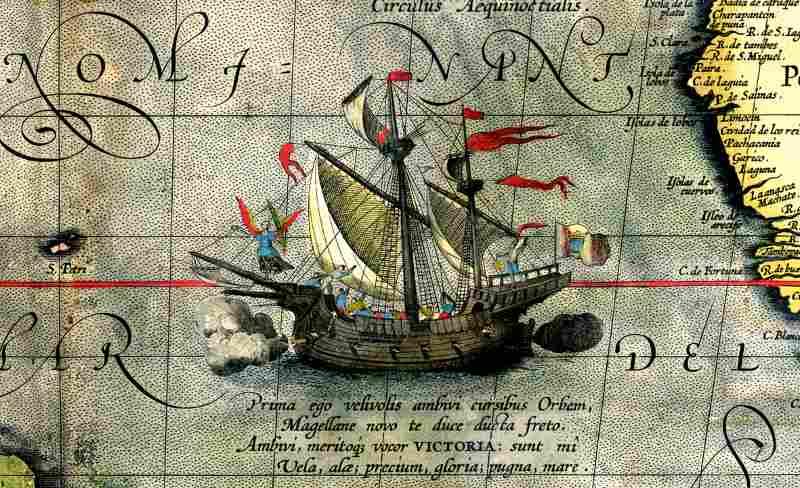 statek Ferdynanda Magellana - Victoria