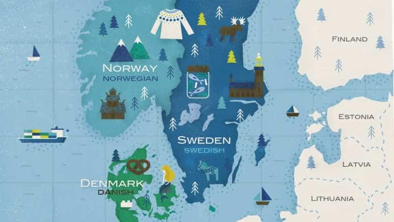 języki skandynawskie