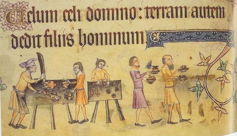 średniowieczni kucharze