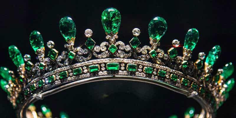 szmaragdowa korona królowej Viktorii