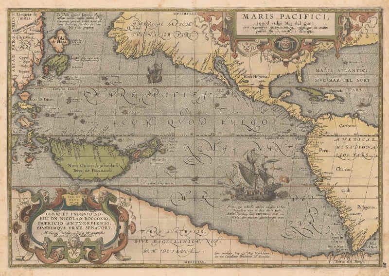 Pacyfik mapa