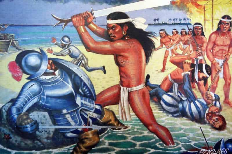 śmierć ferdynanda Magellana