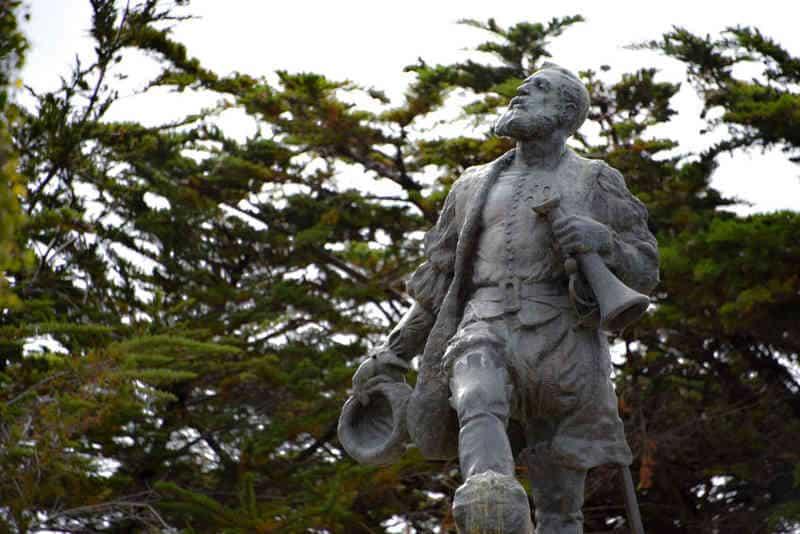 Ferdynand Magellan - pomnik w Chile