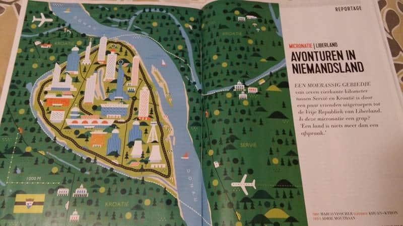 7 kilometrów kwadratowych Liberlandu w holenderskim magazynie.