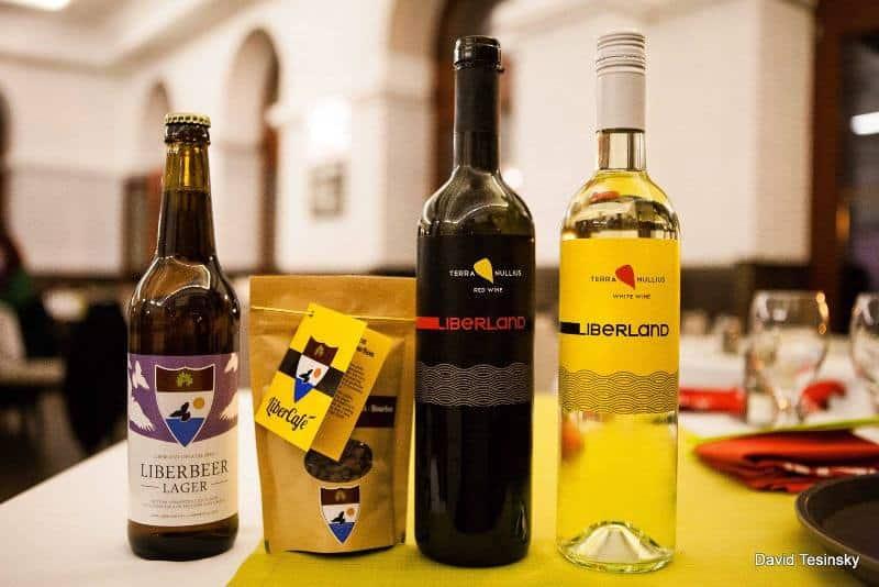 wino i piwo Wolnej Republiki Liberlandu