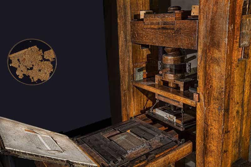 niemieckie wynalazki: maszyna drukarska gutenberga