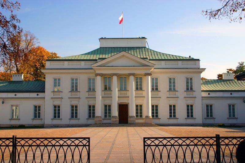 Pałac Belwederski, architektura klasycystyczna