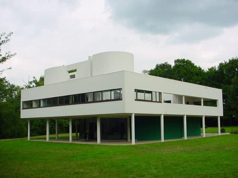 Le Corbusier, Villa Savoye, Poissy, France