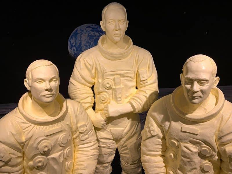 rzeźby z masła