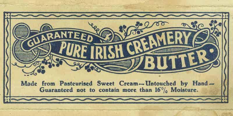 Masło - etykieta