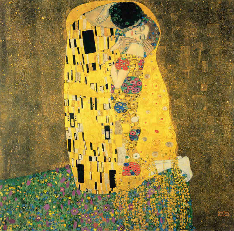 Pocałunek - Gustav Klimt