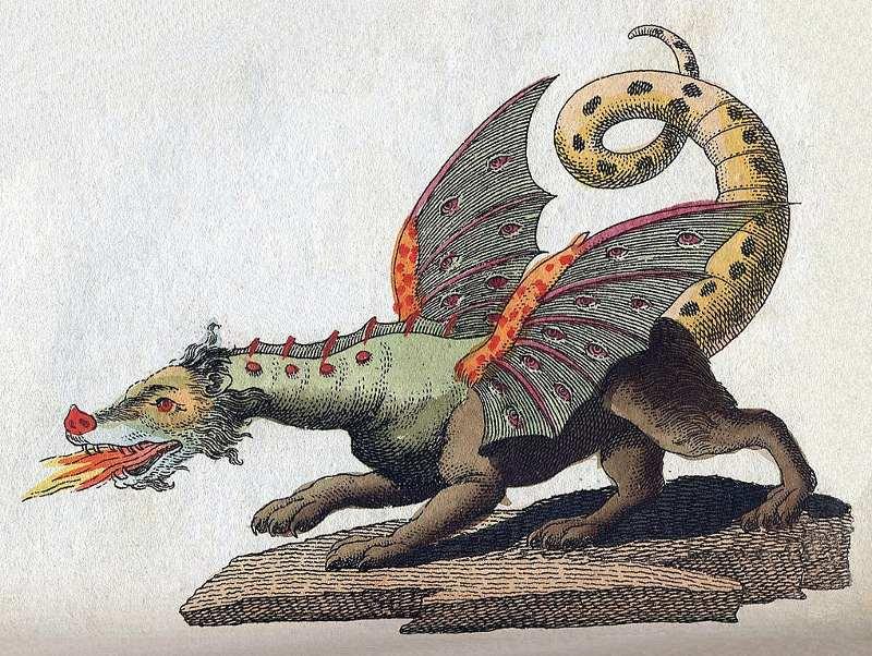 Mityczna stworzenia: smok