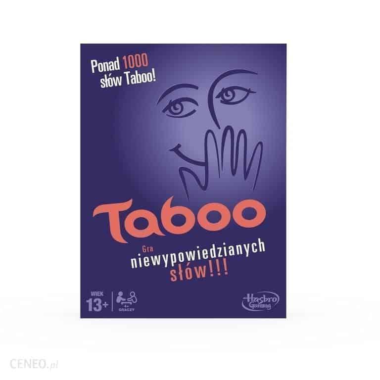 gry planszowe dla dzieci: taboo