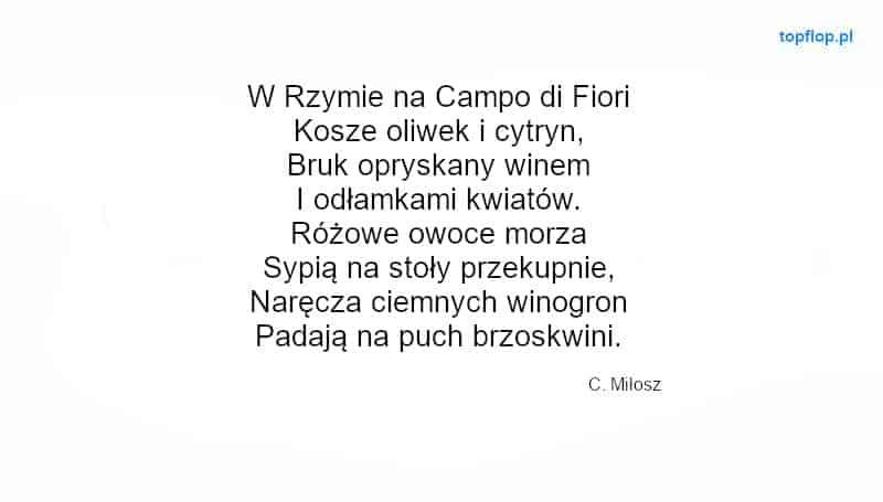 Rodzaje wierszy: wiersz toniczny przyklad