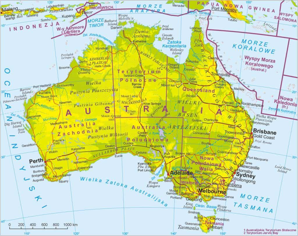 mapa przeglądowa
