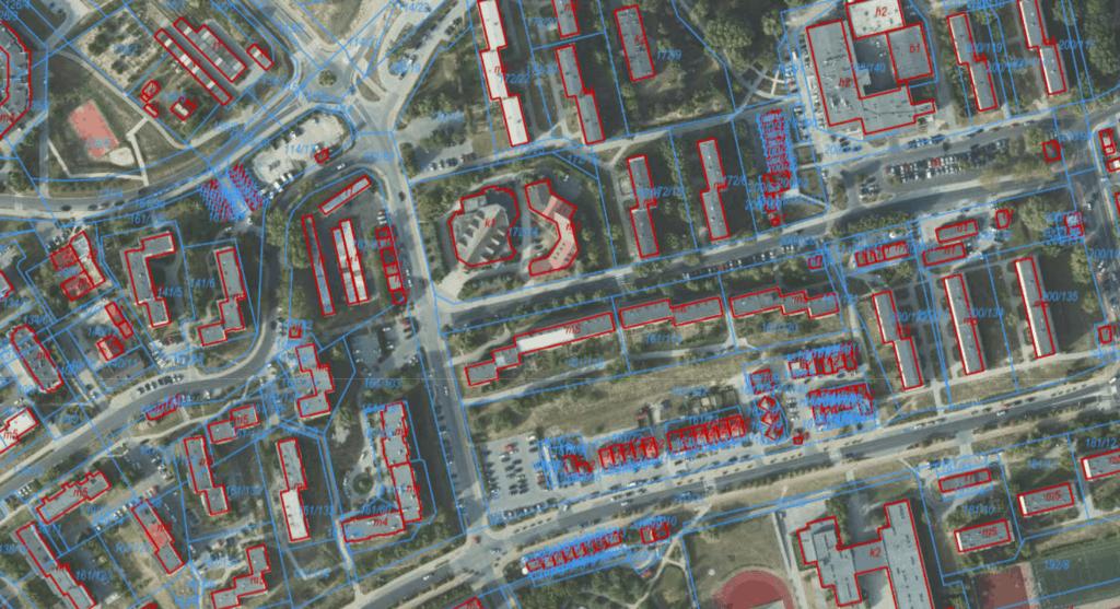 Rodzaje map: ortofotomapa