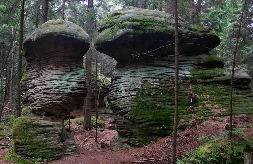 góry stołowe - parki narodowe w polsce