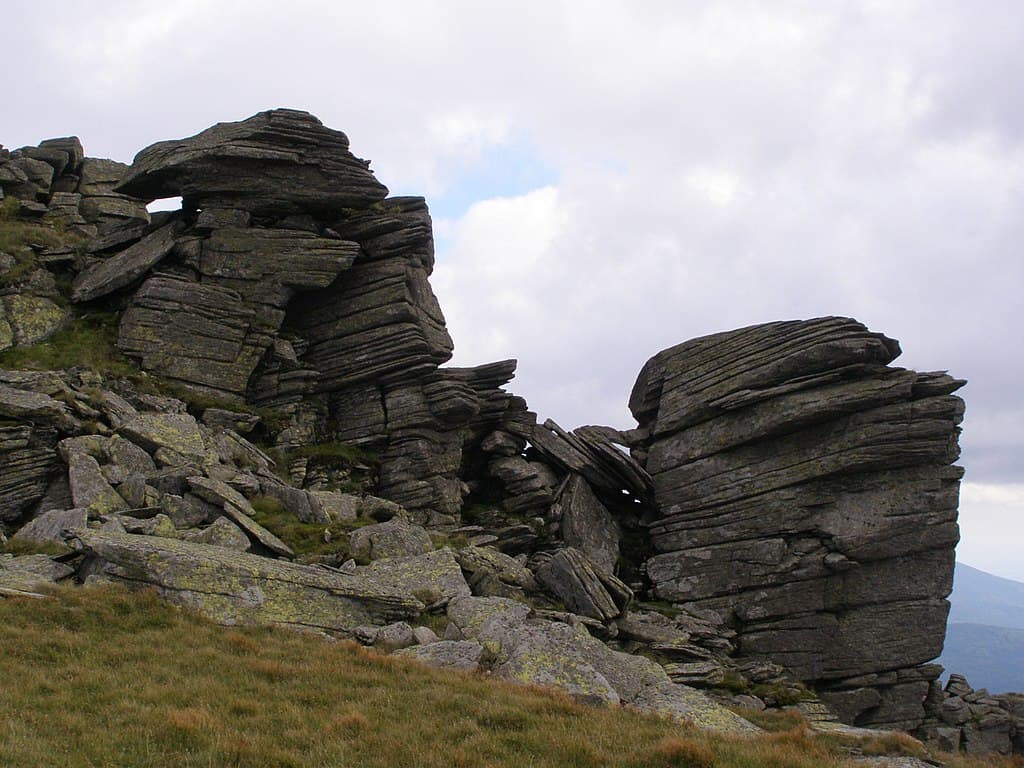 Formacje skalne w Tatrach