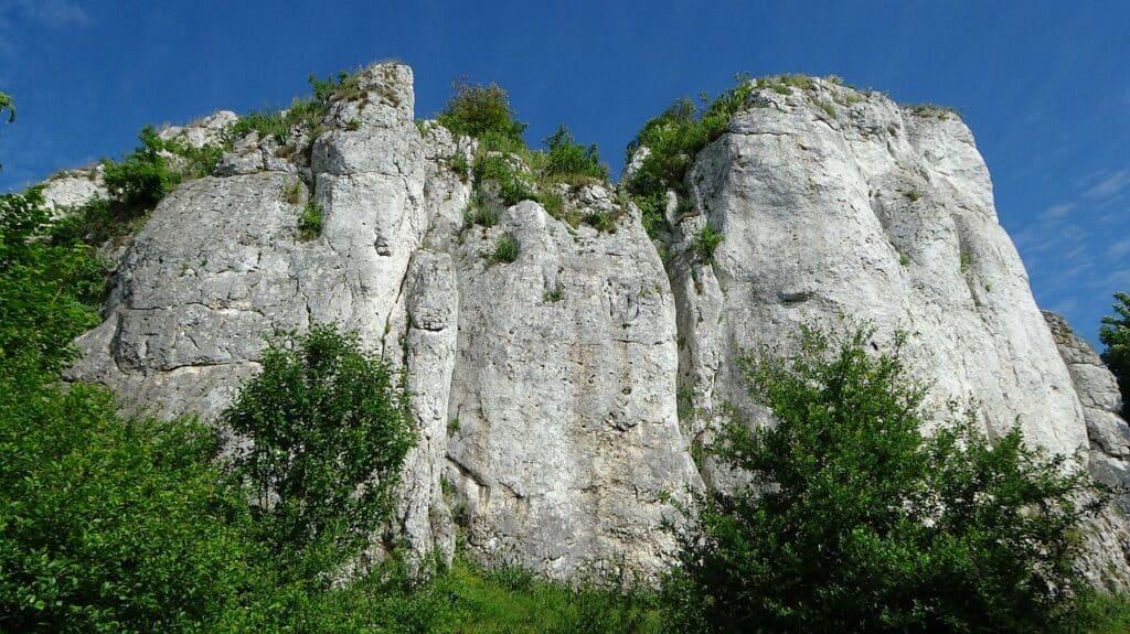 wapienne skały jura krakowska